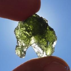 Moldavite naturelle en provenance de République Tchèque