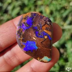 Opale Boulder naturelle, Queensland Australie