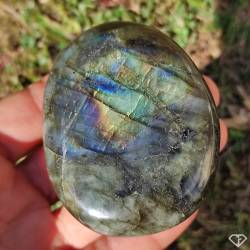Galet de Labradorite - Pierre de collection de Madagascar