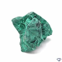 Malachite fibreuse - Pierre de collection du Congo