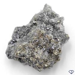 Pyrite Quartz Chlorite Galène et Calcite de Bulgarie