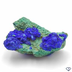 Azurite Malachite - Pierre de collection du Congo