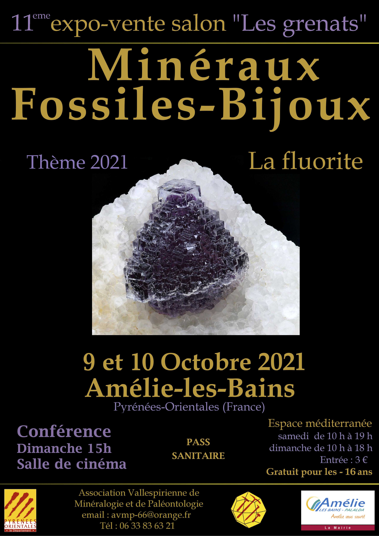 Salon des Minéraux d'Amélie-les-Bains