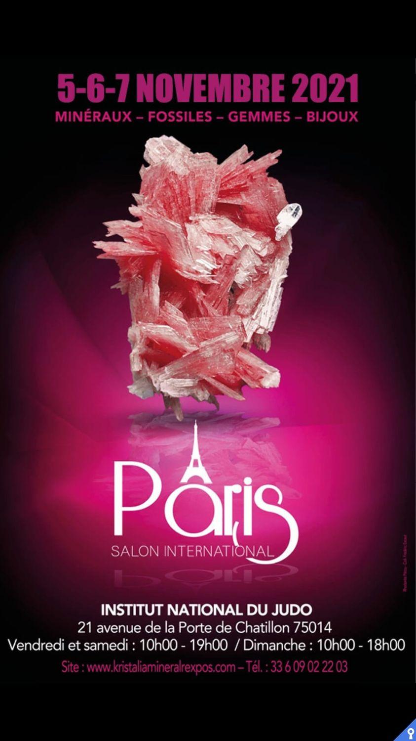 Salon des Minéraux de Paris