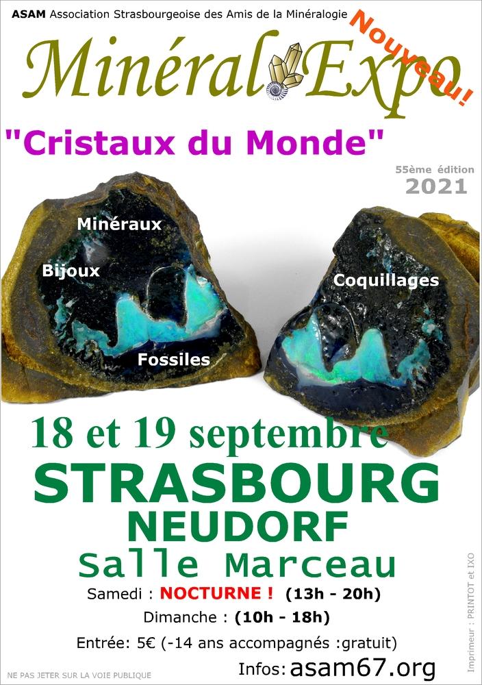 Salon des Minéraux de Strasbourg