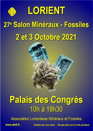 Exposition-vente Minéralogique et Paléontologique de Lorient