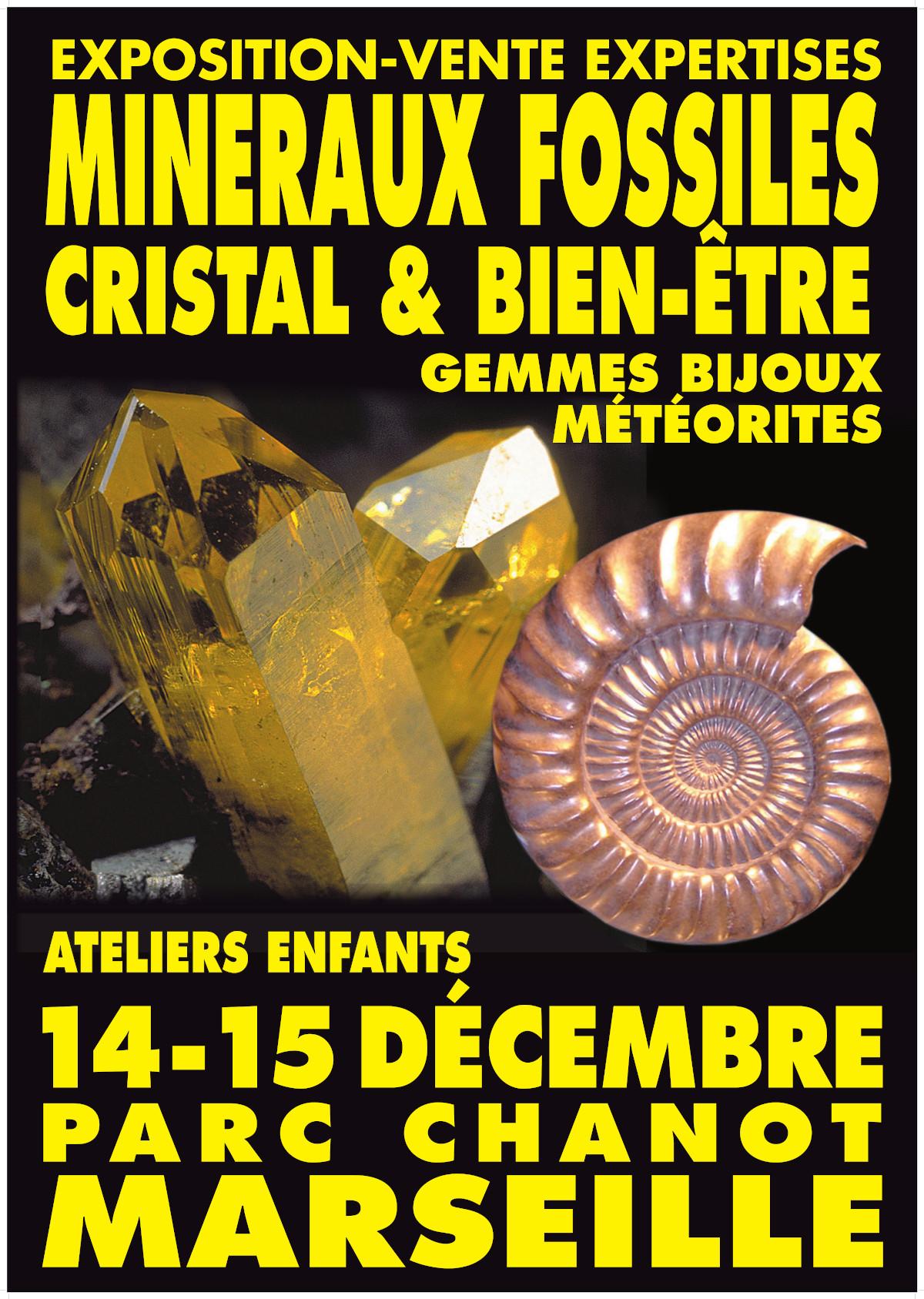 Bourse aux minéraux Marseille 2019 - Calendrier des bourses aux minéraux Charlie's Gems