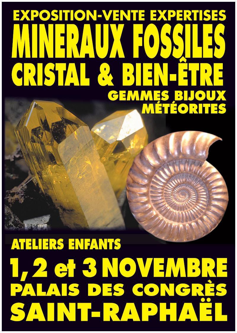 Bourse aux minéraux St Raphaël (83)
