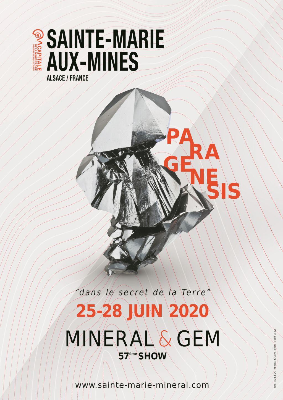 Sainte Marie aux Mines 2020 - Calendrier des bourses aux minéraux Charlie's Gems