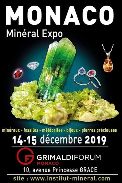 Salon aux gemmes et minéraux Monaco, Forum grimaldi - Charlie's Gems