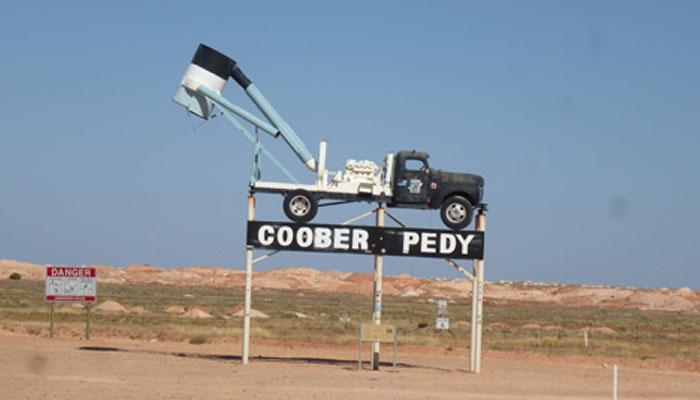 Coober Peedy, gisement d'Opales Australien