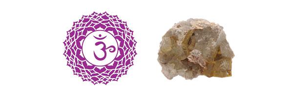 Sahasrara - Fluorite