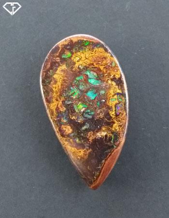 Opale matrix boulder en provenance d'Australie (Yowah)