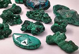 Zoom sur la Malachite